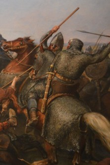 Detail from 'The Battle of Stamford Bridge' by Peter Nicolai Arbo
