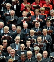 Basses (and a few altos) in full voice at Messiah from Scratch (photo: Chris Christodoulou)