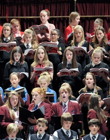 Young choirs sing their hearts out at the 2014 Scratch Youth Messiah. Could your choir join them in 2015?