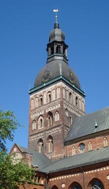 Riga Dom belltower